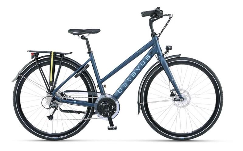 Batavus Avido Trapez deep blue matt Trekkingbike