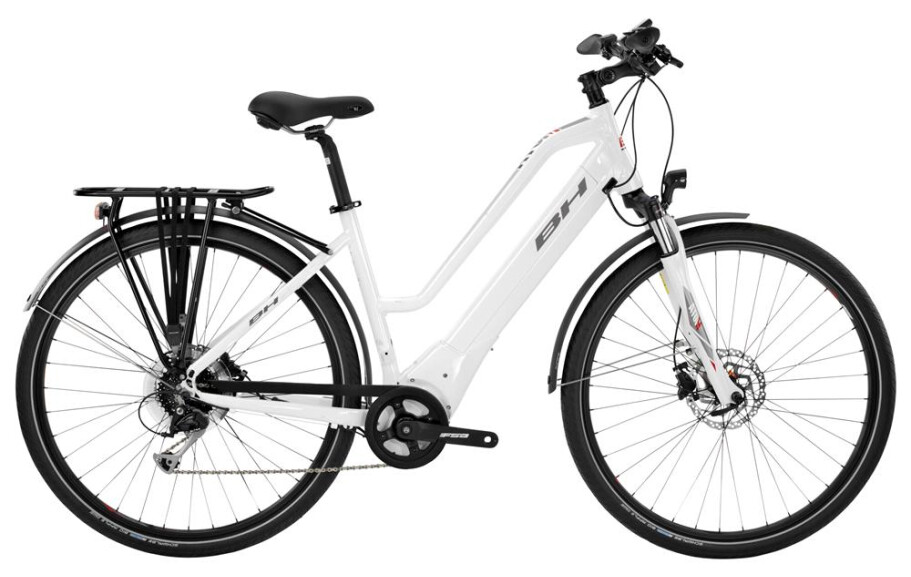 BH Bikes Atom City Wave  8G RH: LA/55 500W Brose T 90 Nm weiß