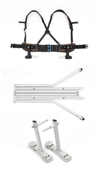 CROOZER - Ski-Adapter-Set