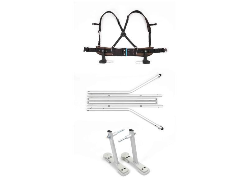 Croozer Ski-Adapter-Set