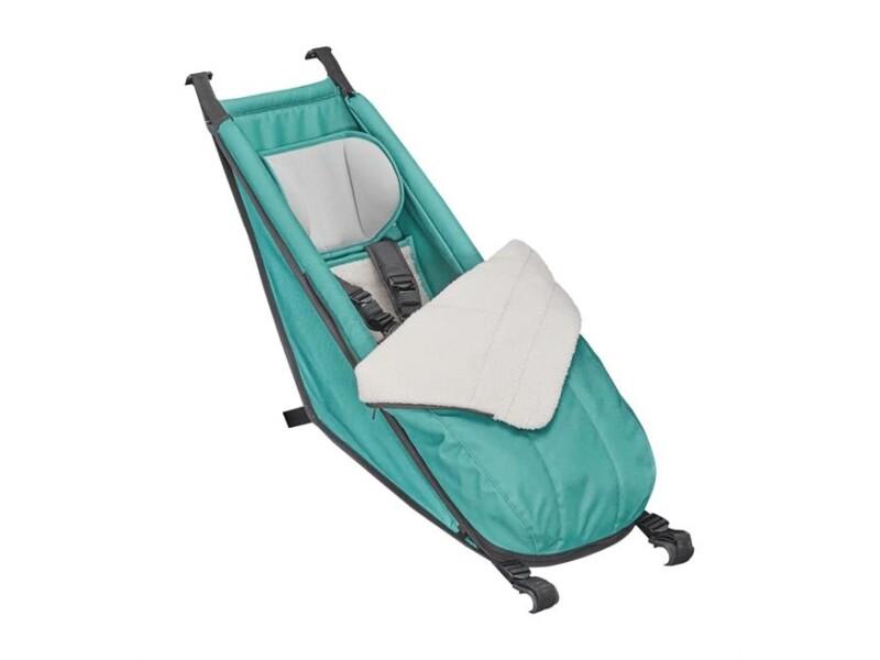 Croozer Babysitz inkl. Winter-Set