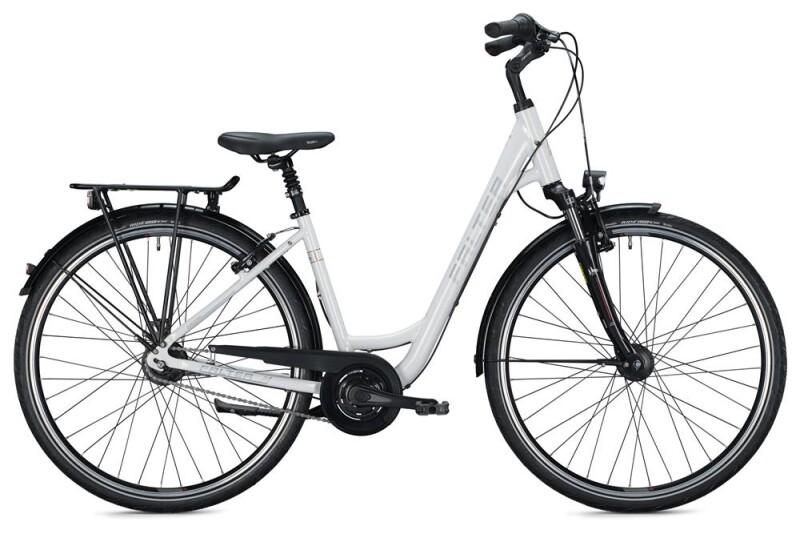 FALTER C 5.0 Wave / white Citybike