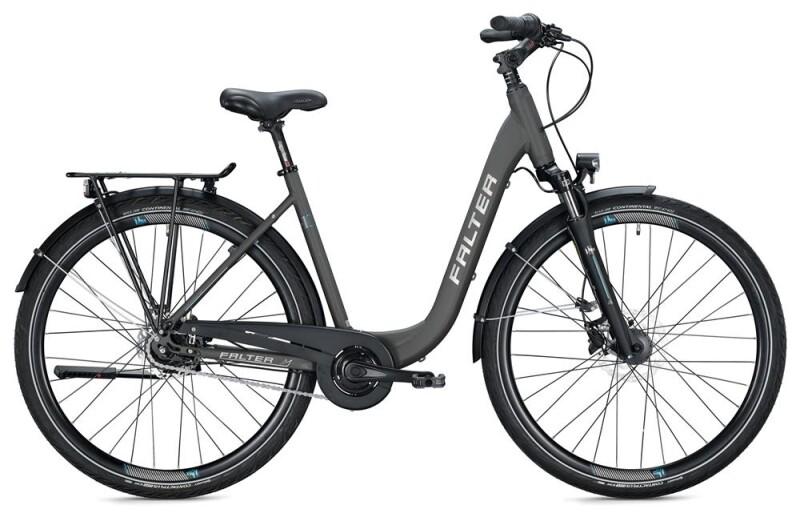 FALTER C 4.0 PLUS / titanium-blue Citybike