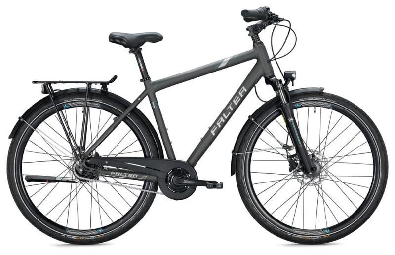 FALTER C 4.0 PLUS Herren / titanium-blue Citybike