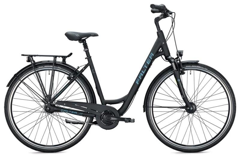 FALTER C 4.0 Wave / black-grey Citybike