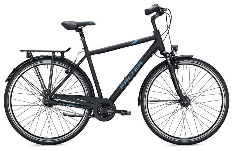 FALTER C 4.0 Herren / black-grey Citybike
