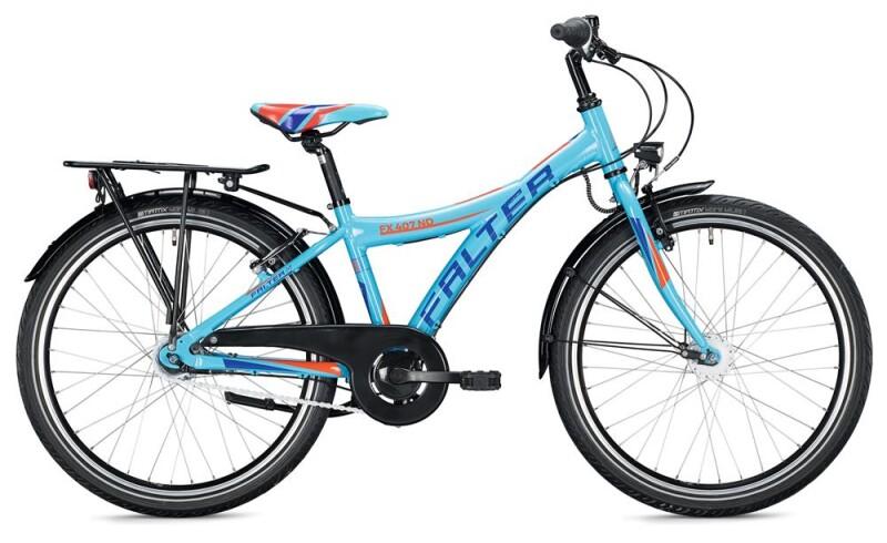 FALTER FX 407 ND Y-Typ / light blue-orange Kinder / Jugend