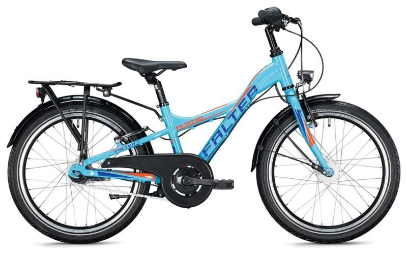 FALTER FX 207 ND Y-Lite / light blue-orange Kinder / Jugend