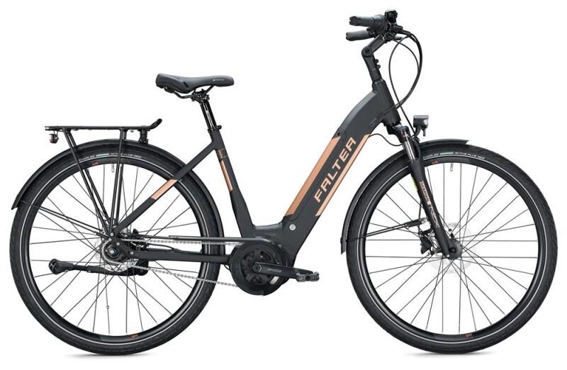 FALTER E 9.8 RT Wave / black E-Bike