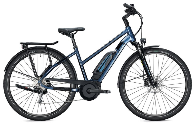 FALTER E 9.0 KS 500 Trapez / dark blue-black E-Bike