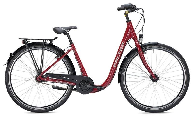 FALTER C 3.0 Comfort / red-white Citybike