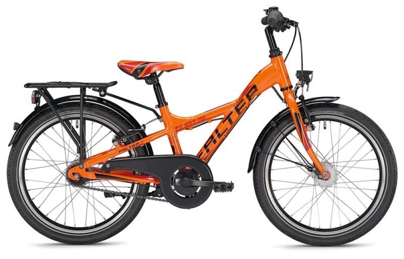 FALTER FX 207 ND Y-Lite / orange-red Kinder / Jugend