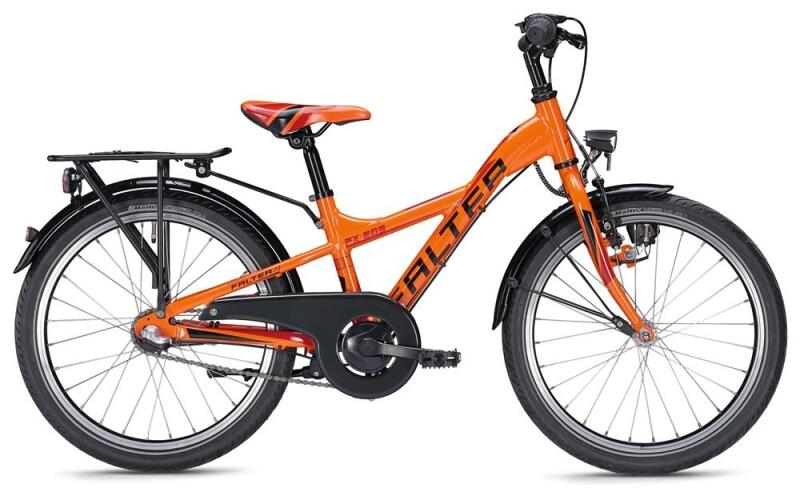 FALTER FX 203 Y-Lite / orange-red Kinder / Jugend