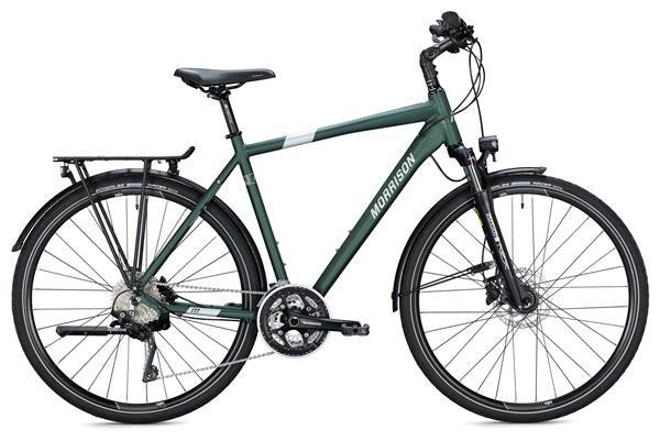 MORRISON - T 6.0 Herren / dark green-silver