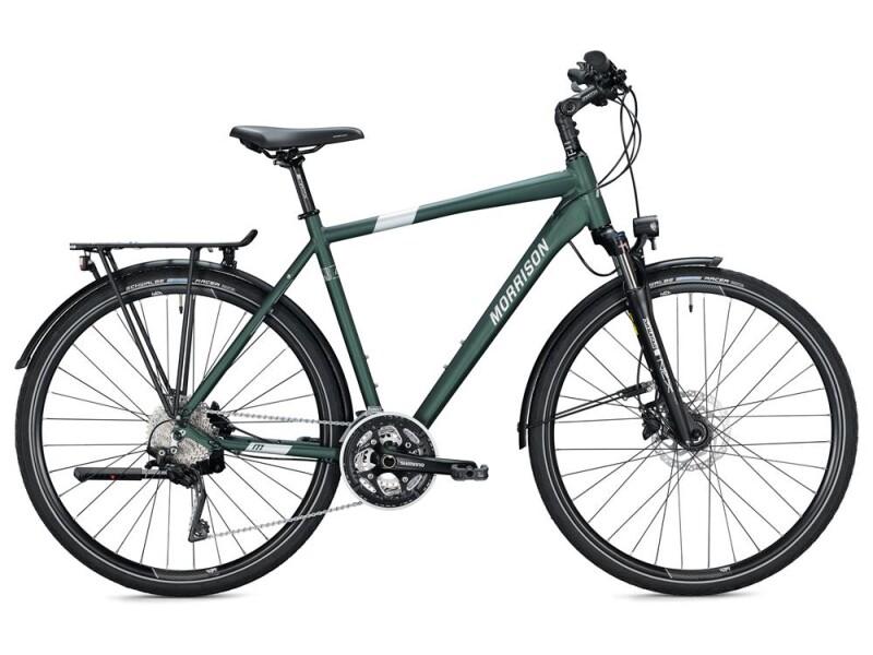 MORRISON T 6.0 Herren / dark green-silver