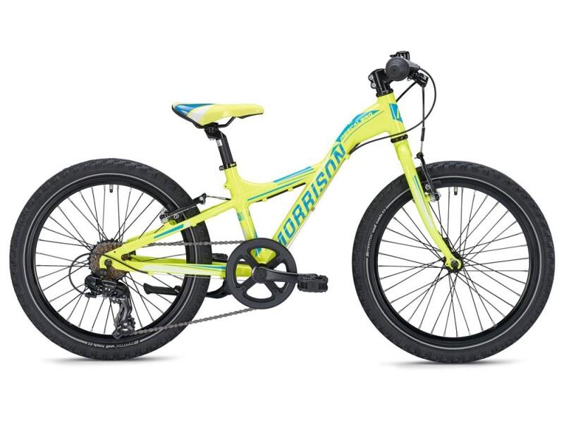 MORRISON MESCALERO X20 Y-Lite / neon yellow-dark blue