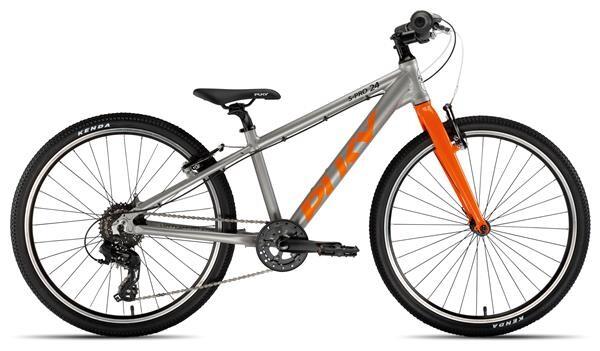 PUKY - S-Pro 24-8 Alu silber/orange