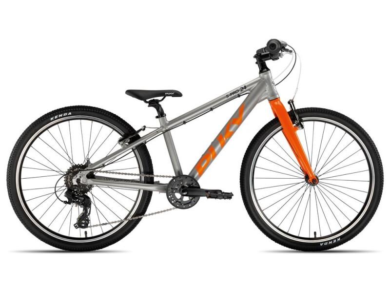 Puky S-Pro 24-8 Alu silber/orange