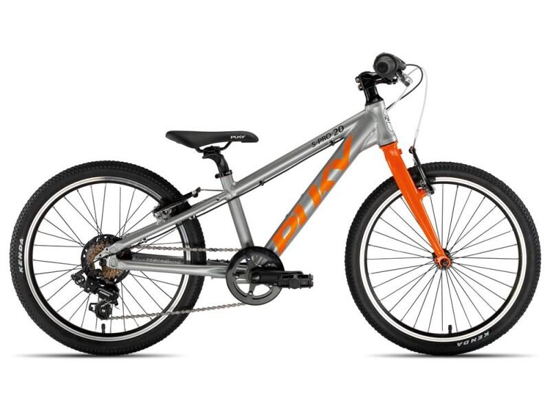 Puky S-Pro 20-7 Alu silber/orange