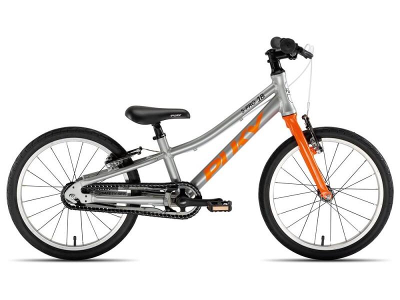 Puky S-Pro 18-1 Alu silber/orange