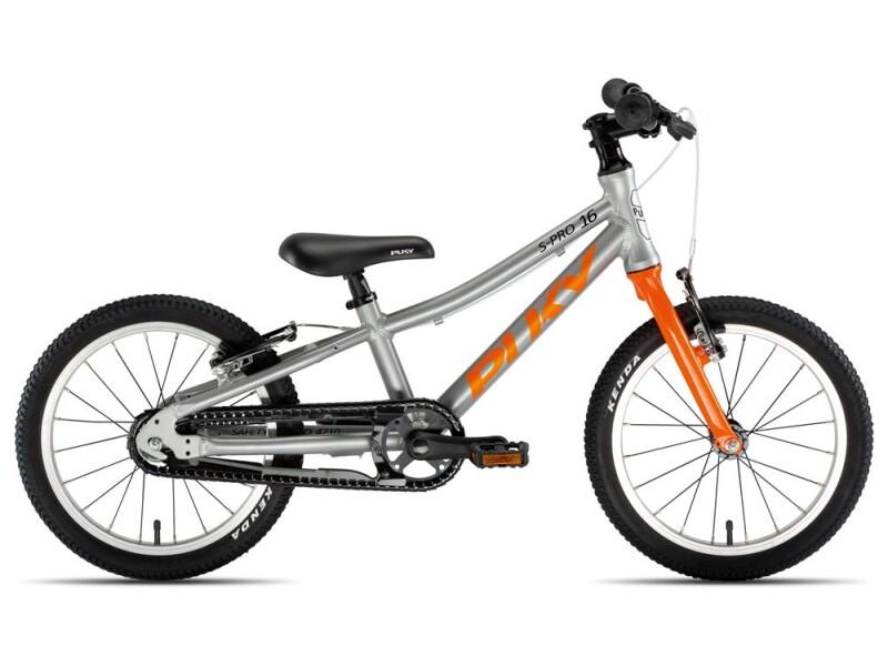 Puky S-Pro 16-1 Alu silber/orange
