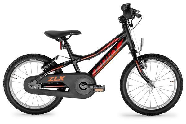PUKY - ZLX 16-1F Alu schwarz