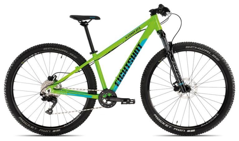 EIGHTSHOTX-COADY 275 Race green/blue