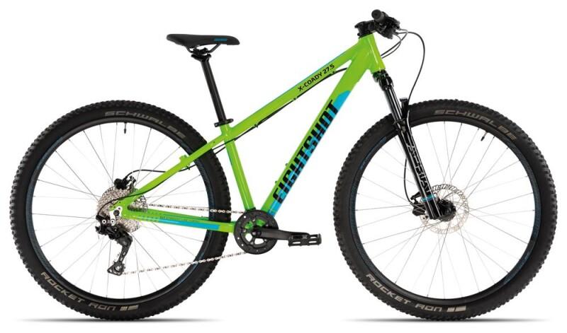Eightshot X-COADY 275 Disc green/blue