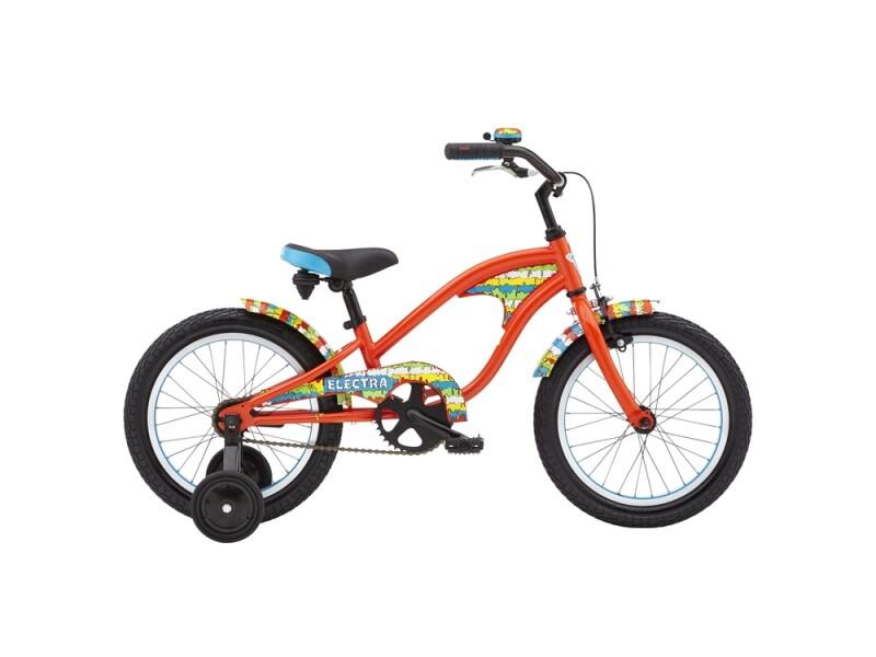 Electra Bicycle Graffiti Drip 1 16in Boys'