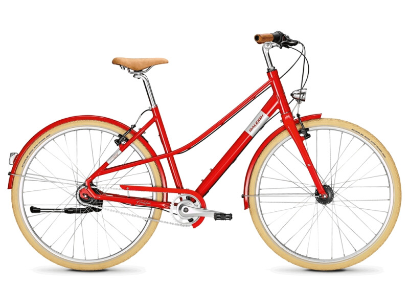 Raleigh HALIFAX 8 firered Mixte