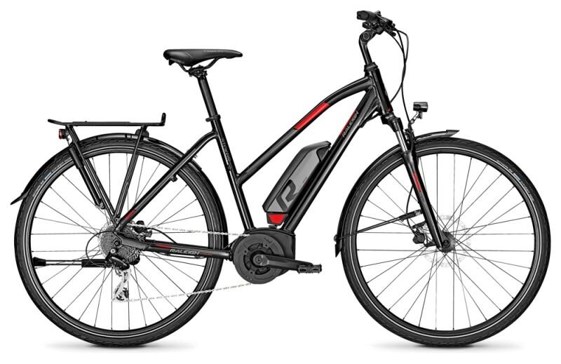 Raleigh STOKER LTD magicblack Trapez E-Bike