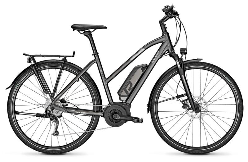Raleigh STOKER 9 diamondblack Trapez E-Bike