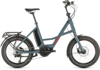"CUBE - 20"" Compact Sport Hybrid blue´n´red"