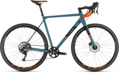 CUBE - Cross Race SL bluegrey´n´orange