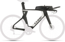 CUBE - Aerium C:68 TT Rahmenset HIGH carbon´n´white