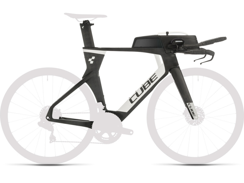 Cube Aerium C:68 TT Rahmenset HIGH carbon´n´white