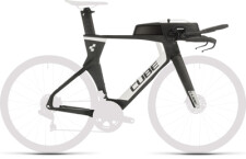 CUBE - Aerium C:68 TT Rahmenset LOW carbon´n´white