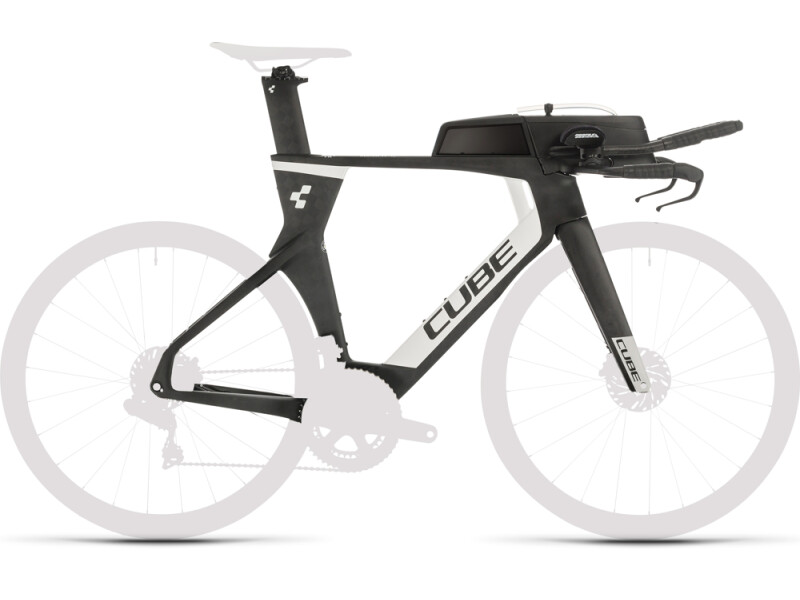 Cube Aerium C:68 TT Rahmenset LOW carbon´n´white