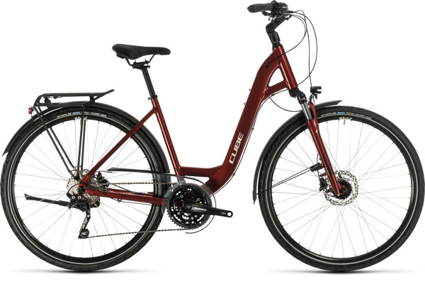 CUBE - Touring EXC red´n´grey