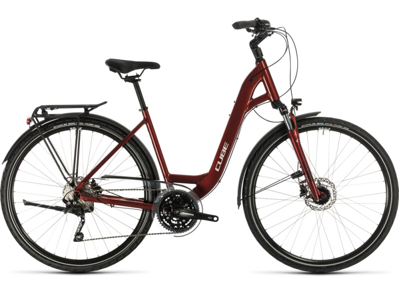 Cube Touring EXC red´n´grey
