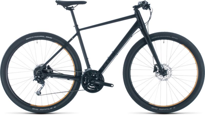 Cube Hyde black´n´yellow Urban-Bike