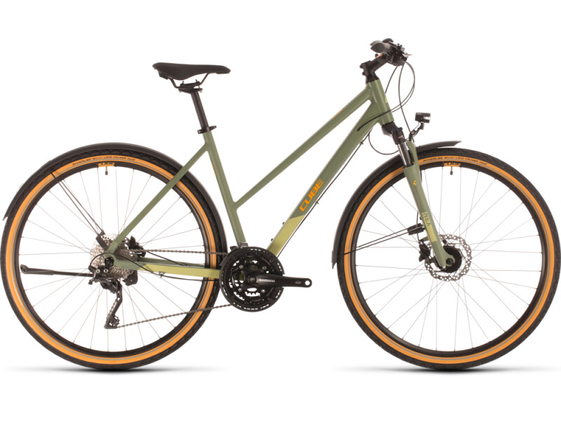 Cube Nature EXC Allroad green´n´orange