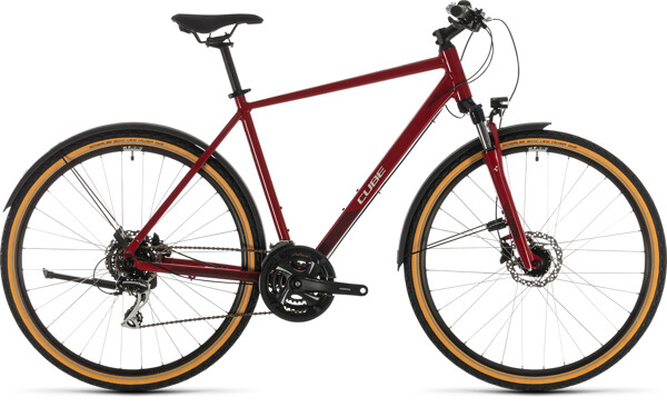 CUBE - Nature Allroad red´n´grey