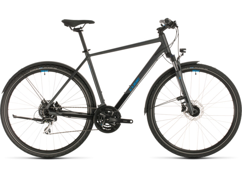 Cube Nature Allroad iridium´n´blue