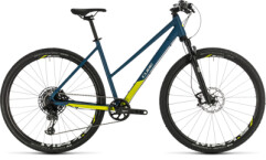 CUBE - Cross SL blue´n´lime