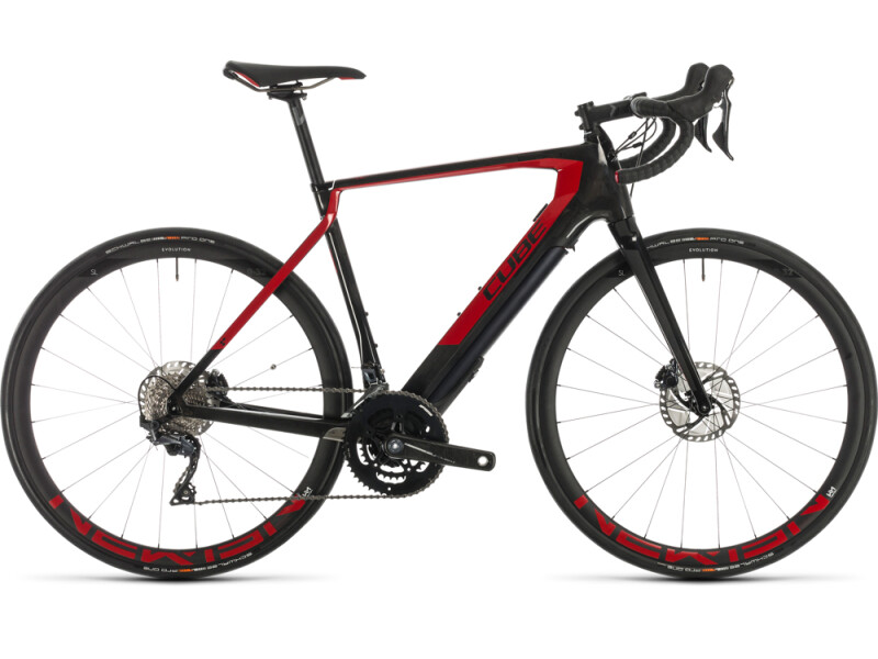 Cube Agree Hybrid C:62 SL carbon´n´red