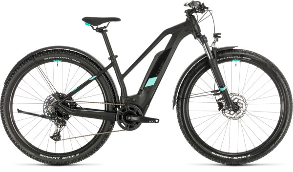 CUBE - Access Hybrid Pro 500 Allroad black´n´mint