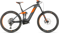 CUBE - Stereo Hybrid 160 HPC TM 625 27.5 grey´n´orange