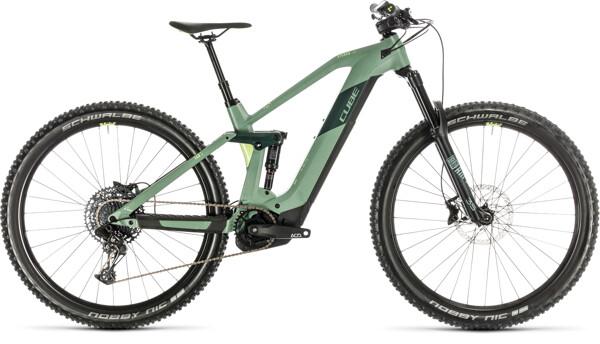 CUBE - Stereo Hybrid 140 HPC Race 500 29 green