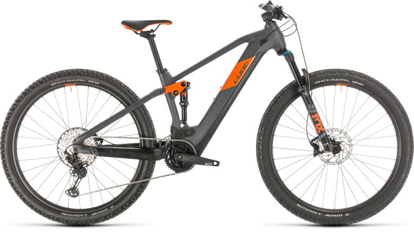 CUBE - Stereo Hybrid 120 Race 500 29 grey´n´orange